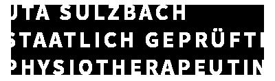 Uta Sulzbach – Physiotherapeutin Logo